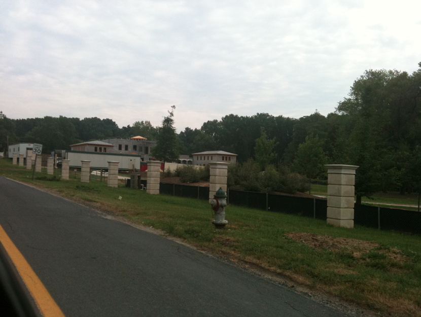 Another Potomac, MD Mega Mansion Under Construction