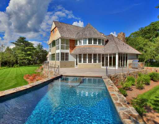 Shingle Estate In Darien, CT