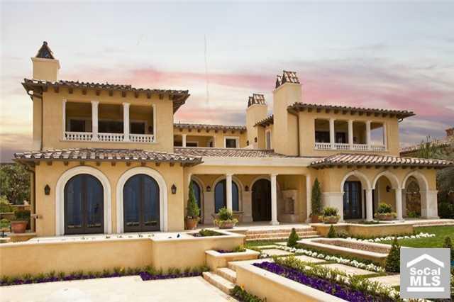 Brand New Italian Villa In Newport Coast, CA