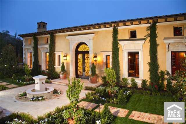 Brand New Italian Villa In Newport Coast Ca Homes Of