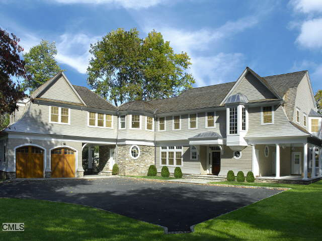 Elegant Shingle Style Mansion In Greenwich Ct Homes Of