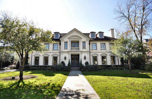 Stunning French Mediterranean Mansion In Highland Park Texas