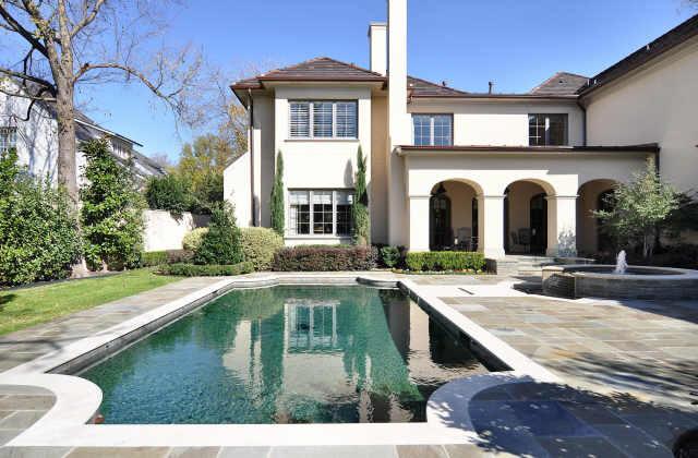 Stunning French-Mediterranean Mansion in Highland Park, Texas