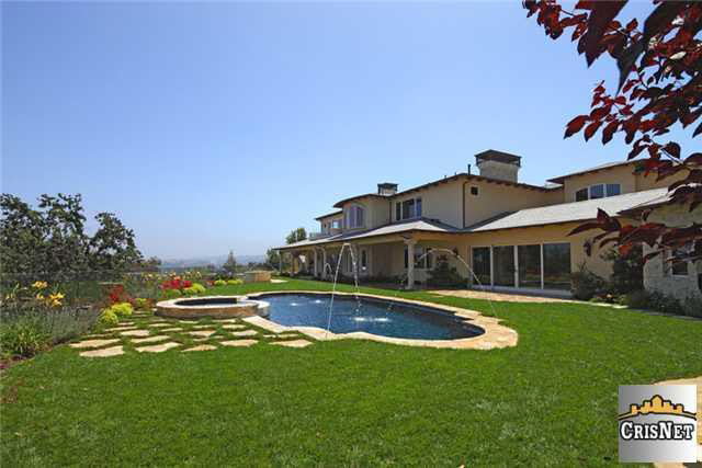 Brand New French Country Estate In Calabasas, CA