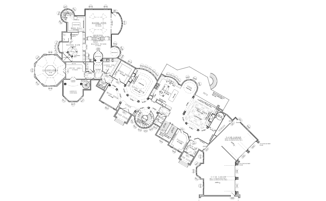 Floor Plans To The 25000 Square Foot Utah Mega Mansion HOTR