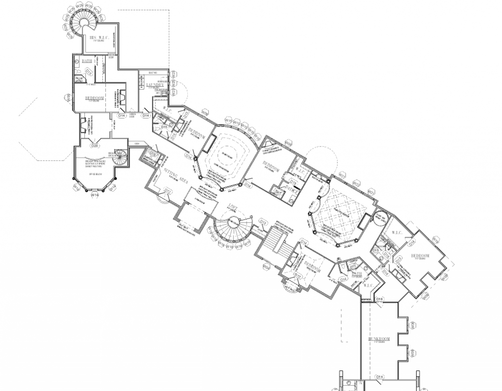Floor plans to the 25 000 square foot utah mega mansion House plans mansion