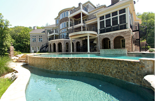 Exquisite Brick & Stone Mansion In Franklin, TN