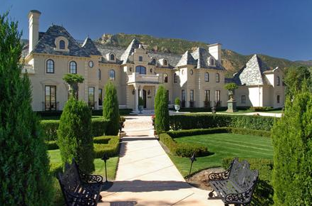 Luxurious french chateau in colorado springs co homes for French chateau style