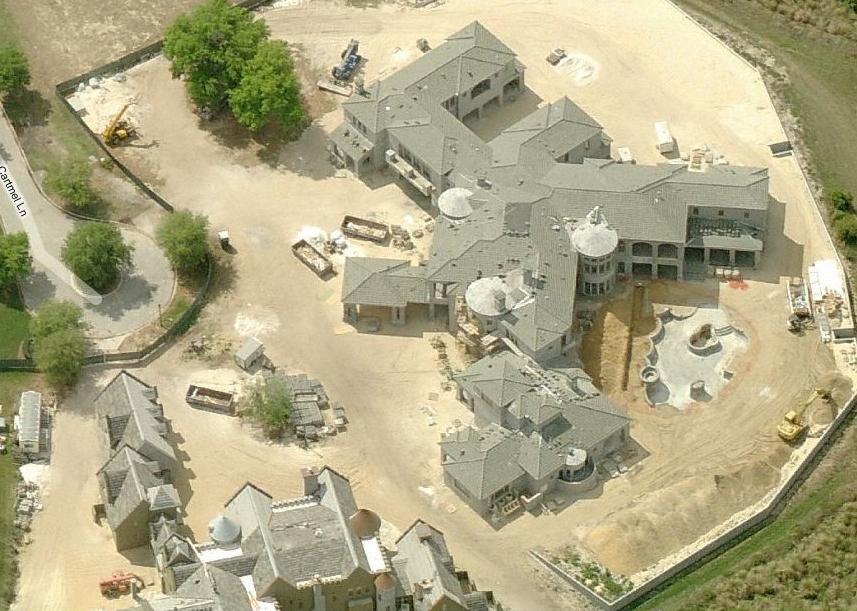Two Large Mansions Being Built Side By Side In Windermere, FL