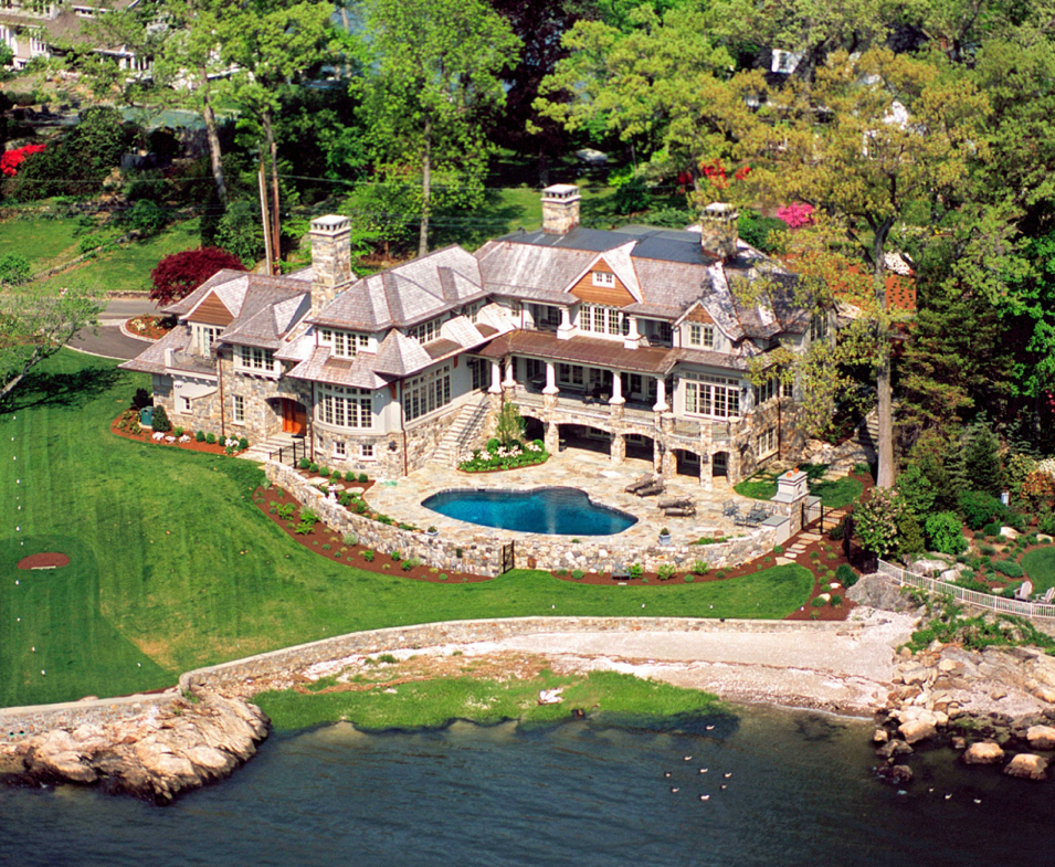 Stunning French Country Waterfront Estate In Darien Ct