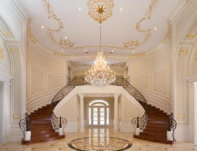 A look at some of my favorite grand staircases what are for Luxury staircase