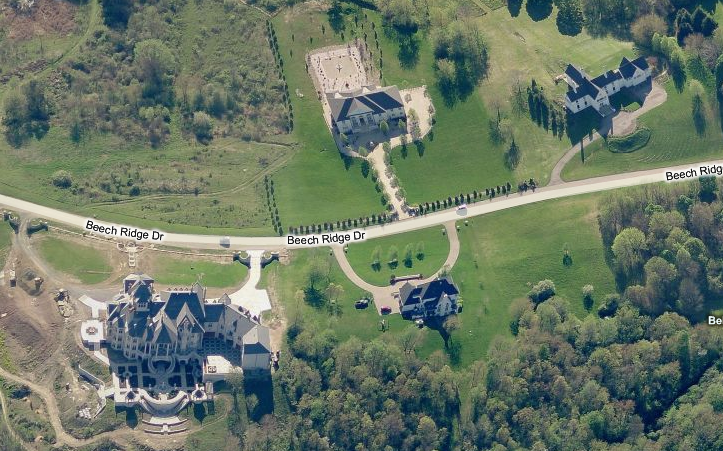 A Closer Look At The Insanely Gargantuan Mansion In Bell