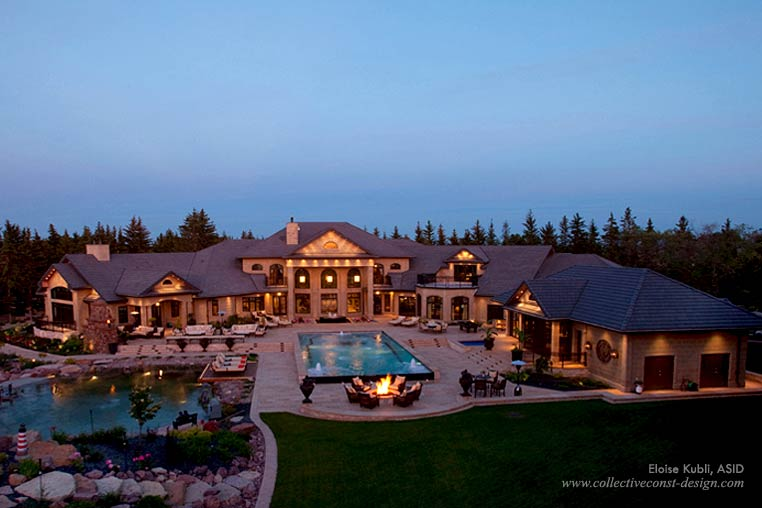Mega Mansion In Saskatchewan Canada Homes Of The Rich