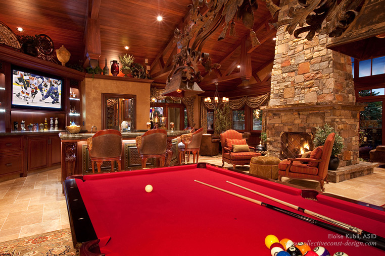 Poolroom Homes Of The Rich