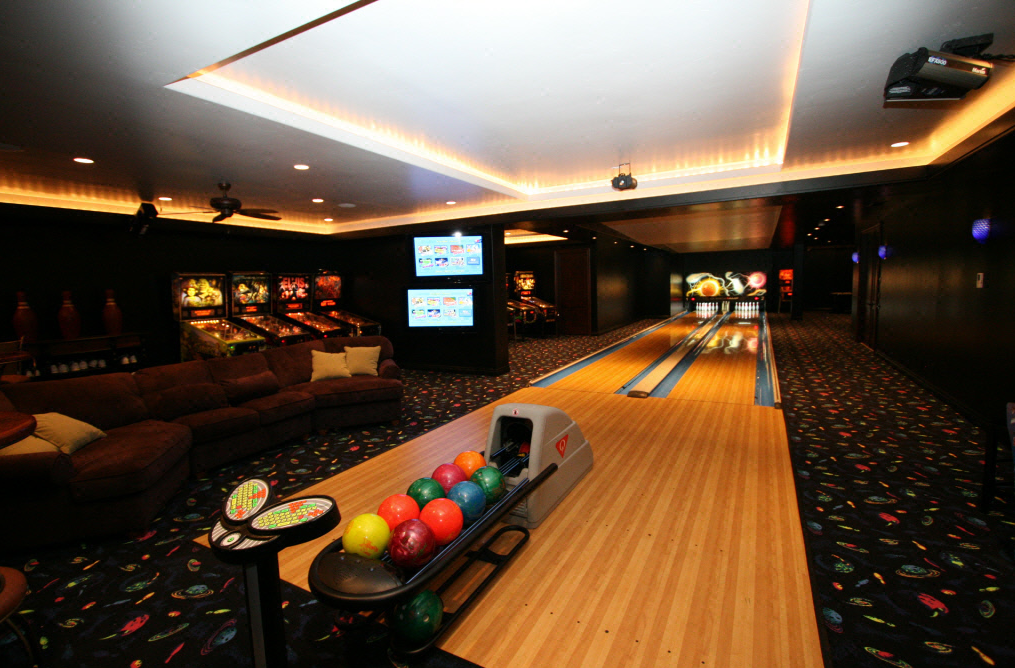A look at some of my favorite bowling alleys what are for House plans with bowling alley