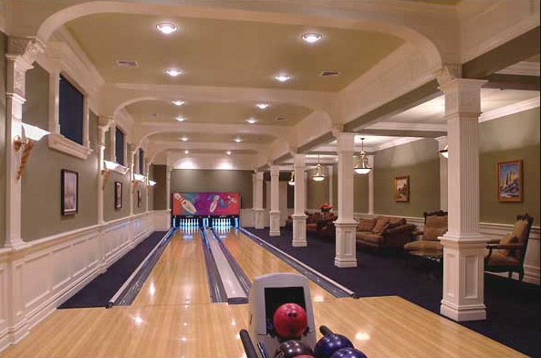 A look at some of my favorite bowling alleys what are Bowling alley floor plans