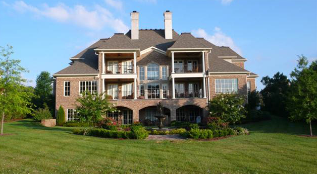 Newly Built Country Club Estate In Brentwood, TN