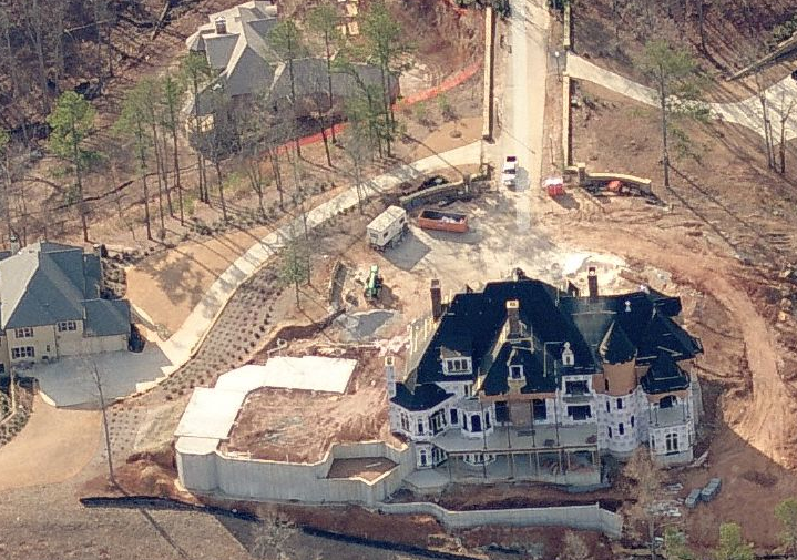Two Newly Built 22,000 Square Foot Mansions