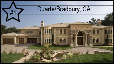 Bradbury, CA Named Nation's Most Expensive Zip Code