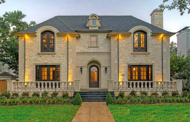 French chateau masterpiece in university park tx homes for French chateau homes for sale