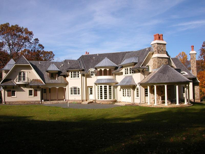Newly built french country manor in new jersey homes of for French manor homes