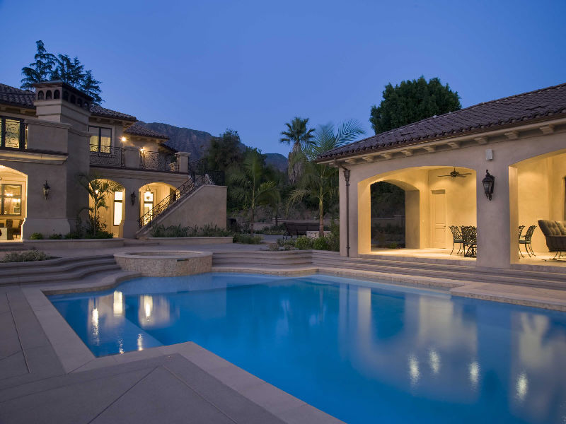 Newly Built Mediterranean Masterpiece In Guard Gated Community