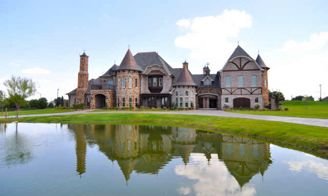 French tudor chateau in celina tx homes of the rich for French tudor