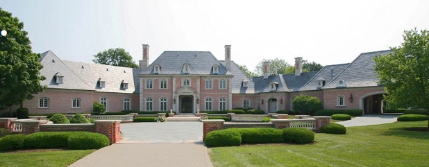 Stephen Hilbert's Former Indiana Mega Mansion Sells For $3 Million At Auction
