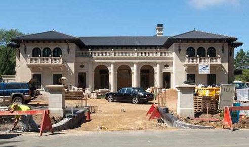 Large Mansion Being Built In Edina, MN