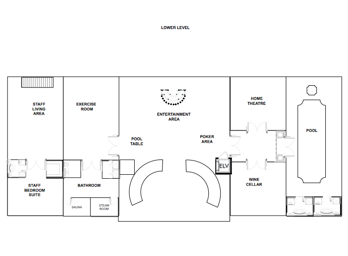 A Homes of the Rich Reader's Mansion Design With Floor Plans