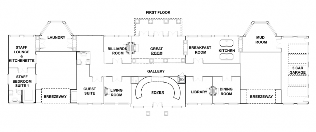 A Homes Of The Rich Reader's UPDATED Mansion Design With