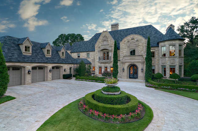 European style mansion in colleyville tx homes of the rich for Big mansion house for sale