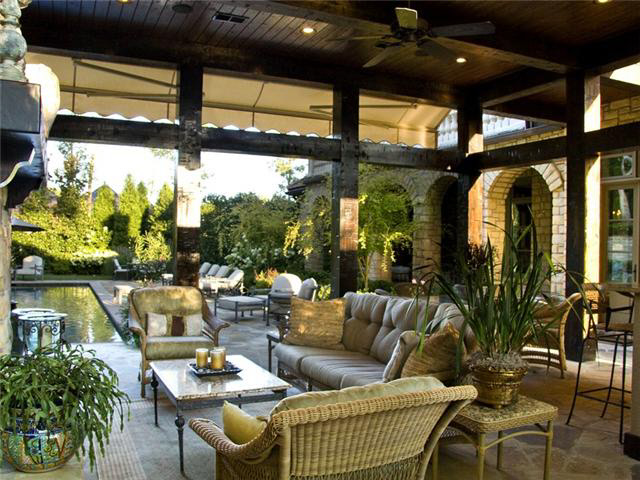 Incredible Tuscan Villa In Franklin Tn Homes Of The Rich