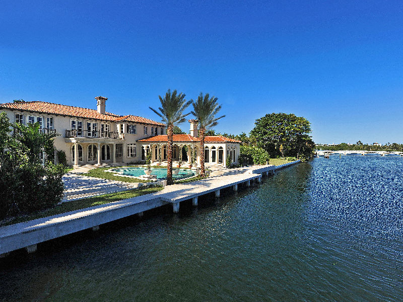Brand New Direct Intracoastal Estate In Palm Beach, FL
