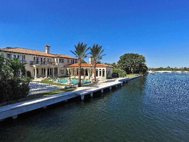 Brand New Direct Intracoastal Estate In Palm Beach, FL