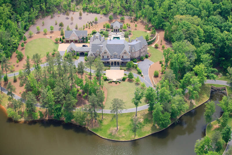 Exquisite Gated Private Estate In Suwanee Ga Homes Of
