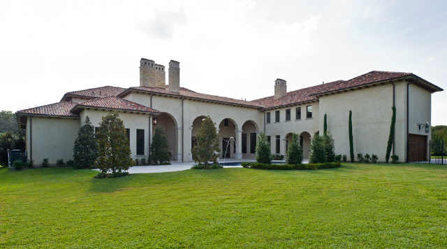 Newly Built Neoclassical Mansion In Dallas, TX