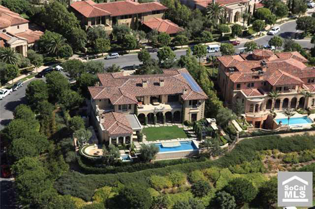 New listing in newport beach ca homes of the rich the for Most expensive house in newport beach