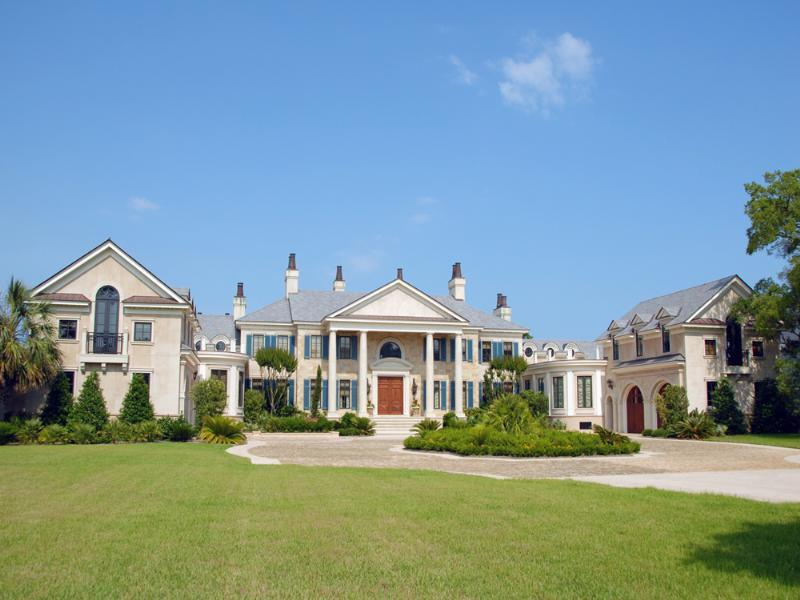 waterfront estate in south carolina s exclusive gated community