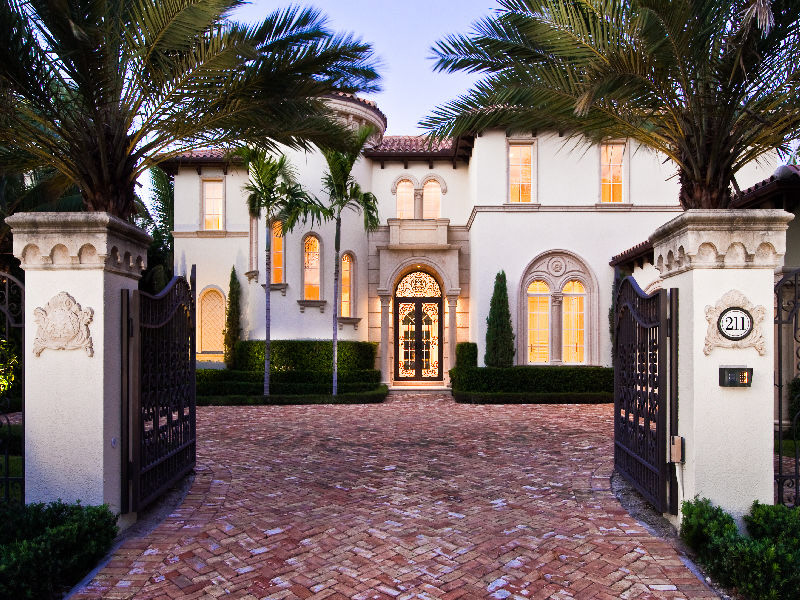 Mediterranean Revival Estate In Palm Beach Fl Homes Of