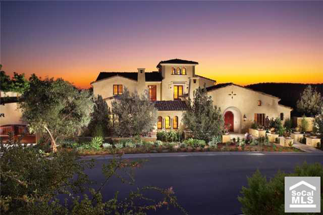 Newly Built Spanish Style Estate In Irvine Ca Homes Of