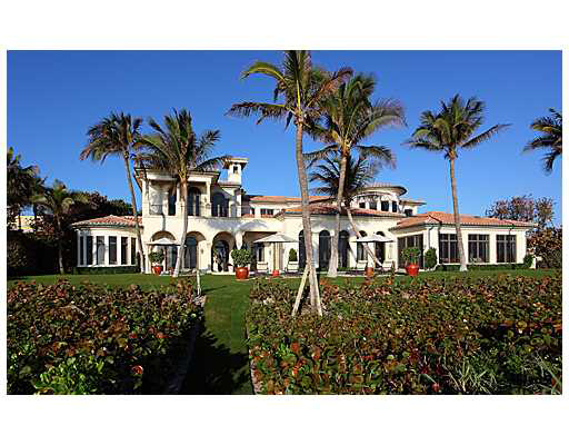 Gated Oceanfront Palazzo In Delray Beach, FL