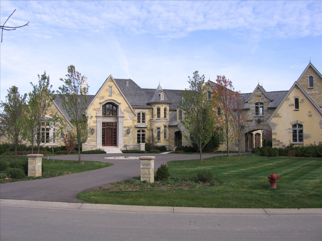 Partially Finished French Normandy Estate In Michigan