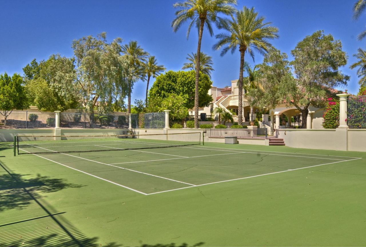 phoenix az estate with resort style backyard homes of the rich
