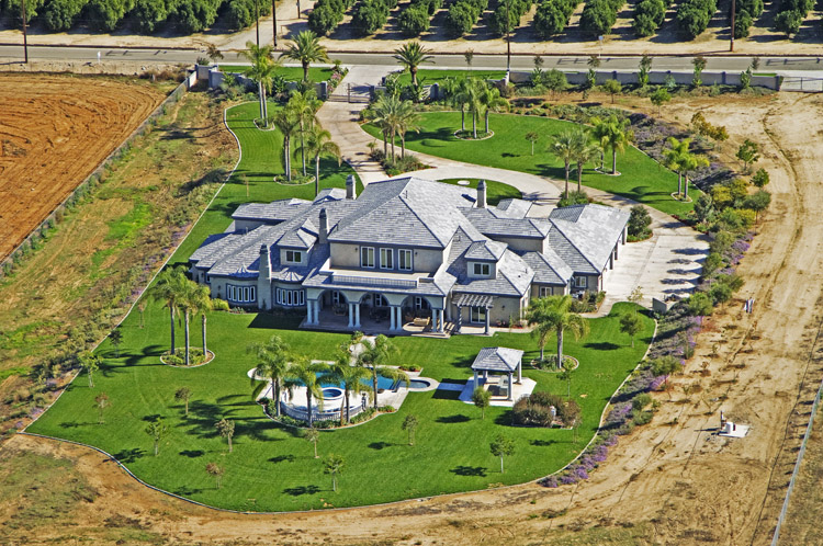 13,000 Square Foot Gated Mansion In Redlands, CA