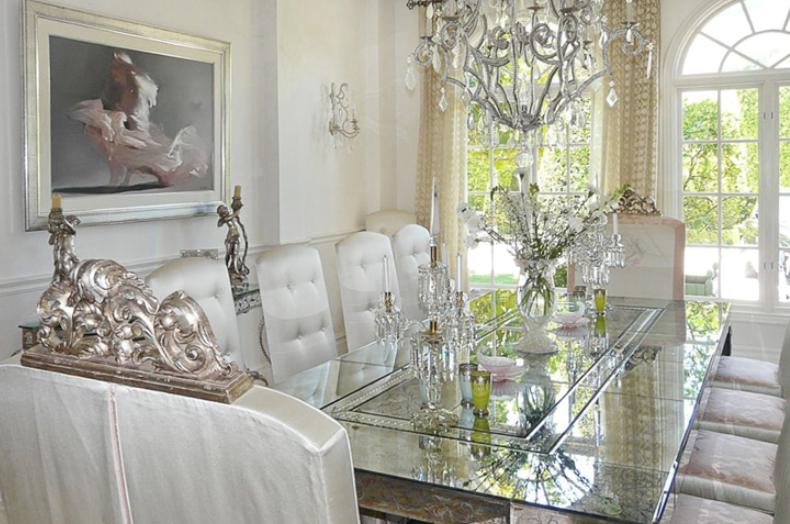 Lisa Vanderpump Dining Room