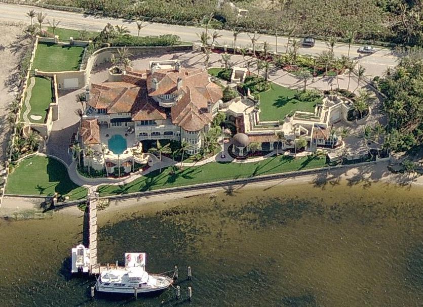 Manalapan, FL Mayor Puts 42,000 Square Foot Mega Mansion On The Market