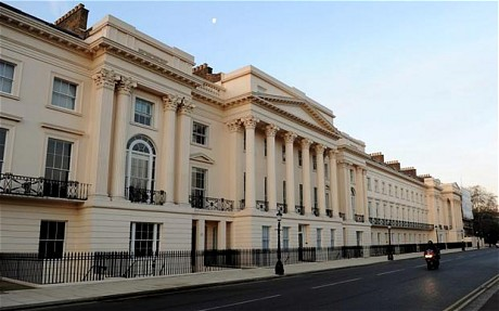 The World's Most Expensive Row Of Terraced Houses