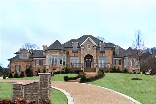 Newly Built Home In Brentwood Tn Homes Of The Rich