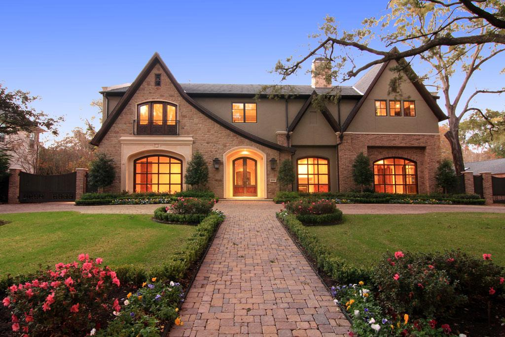 English style new build in houston tx homes of the rich for Build a house in texas
